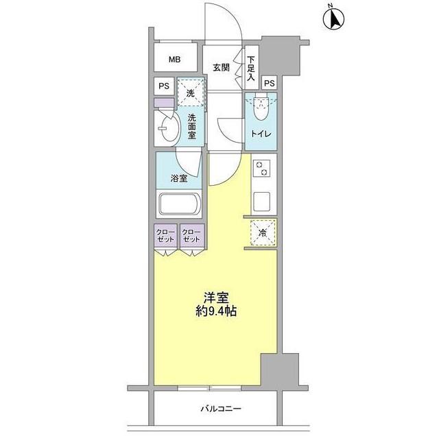 コンフォリア新宿御苑Ⅱ1002号室