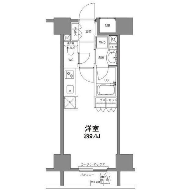 コンフォリア新宿御苑Ⅱ603号室