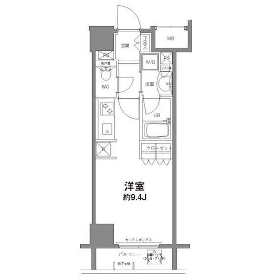 コンフォリア新宿御苑Ⅱ804号室