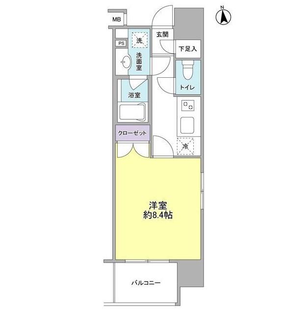 コンフォリア新宿御苑Ⅰ1104号室