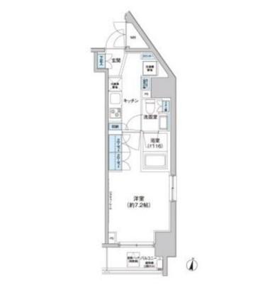 クレヴィアリグゼ西新宿401号室