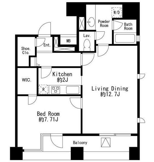 コムフラッツ白金902号室