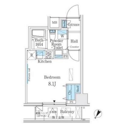 ベルファース代々木203号室